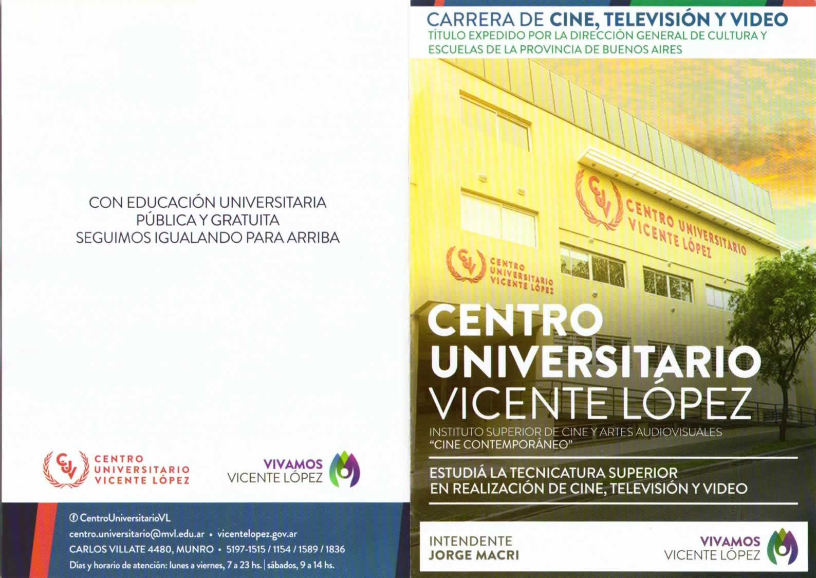 Centro Universitario Vicente López | No se que estudiar